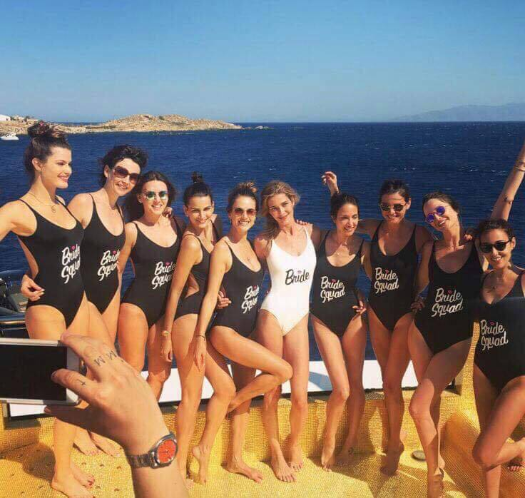 57a9fdd389313 Bride Squad Women Swimwear Bride Hen Party Swimsuit Bathing Suit Bodysuit  Bikini