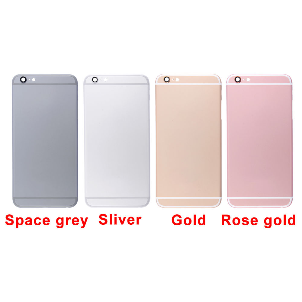 huge discount 15c69 29d5b Details about Battery Rear Metal Cover Housing Back Door Frame Replacement  For iPhone 6S Plus