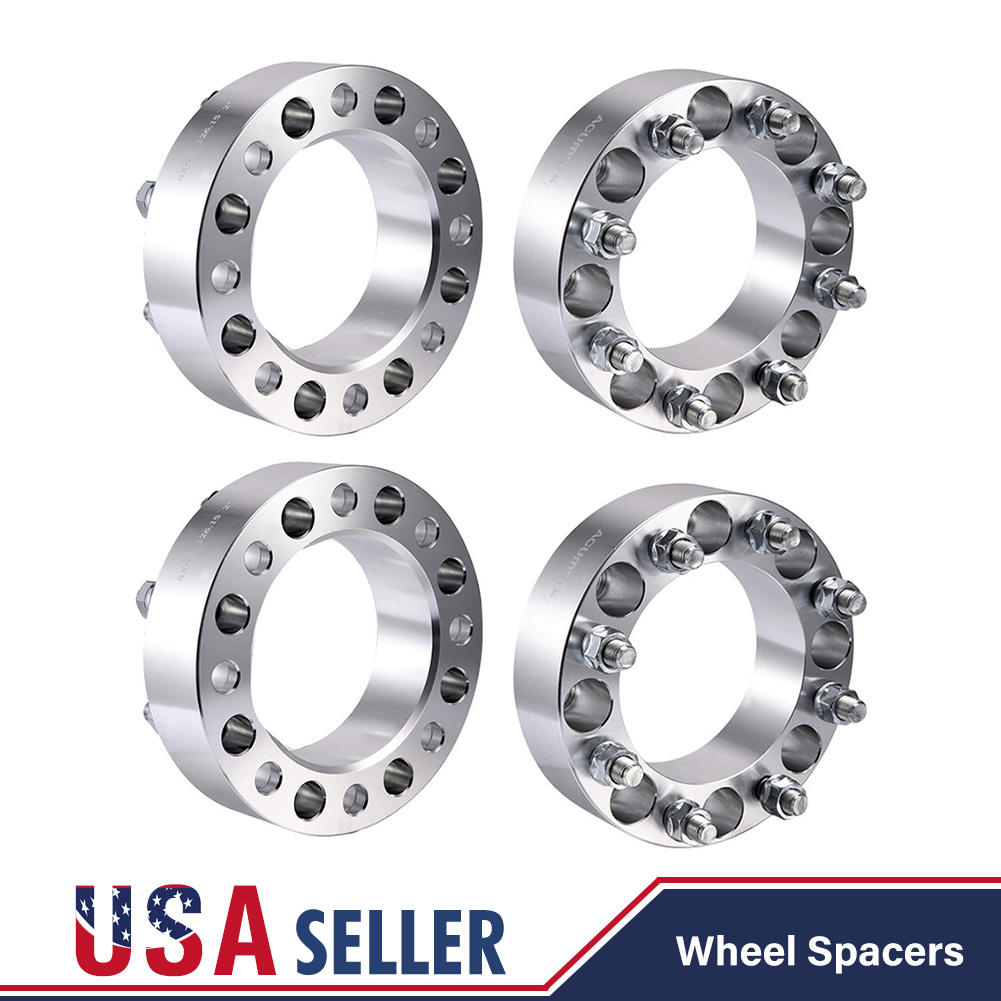 """4pcs 3/"""" Wheel Spacers Adapters 8x6.5 for Dodge Ram 2500 3500 Dually"""