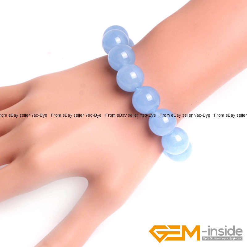 Wholesale-Lot-Handmade-Fashion-Jewelry-Assorted-Colors-Beaded-Jade-Bracelet-7-5-034 thumbnail 76