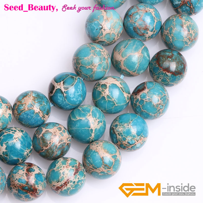 """Blue Crazy Lace Agate Gemstone Faceted Round Loose Beads For Jewelry Making 15/"""""""