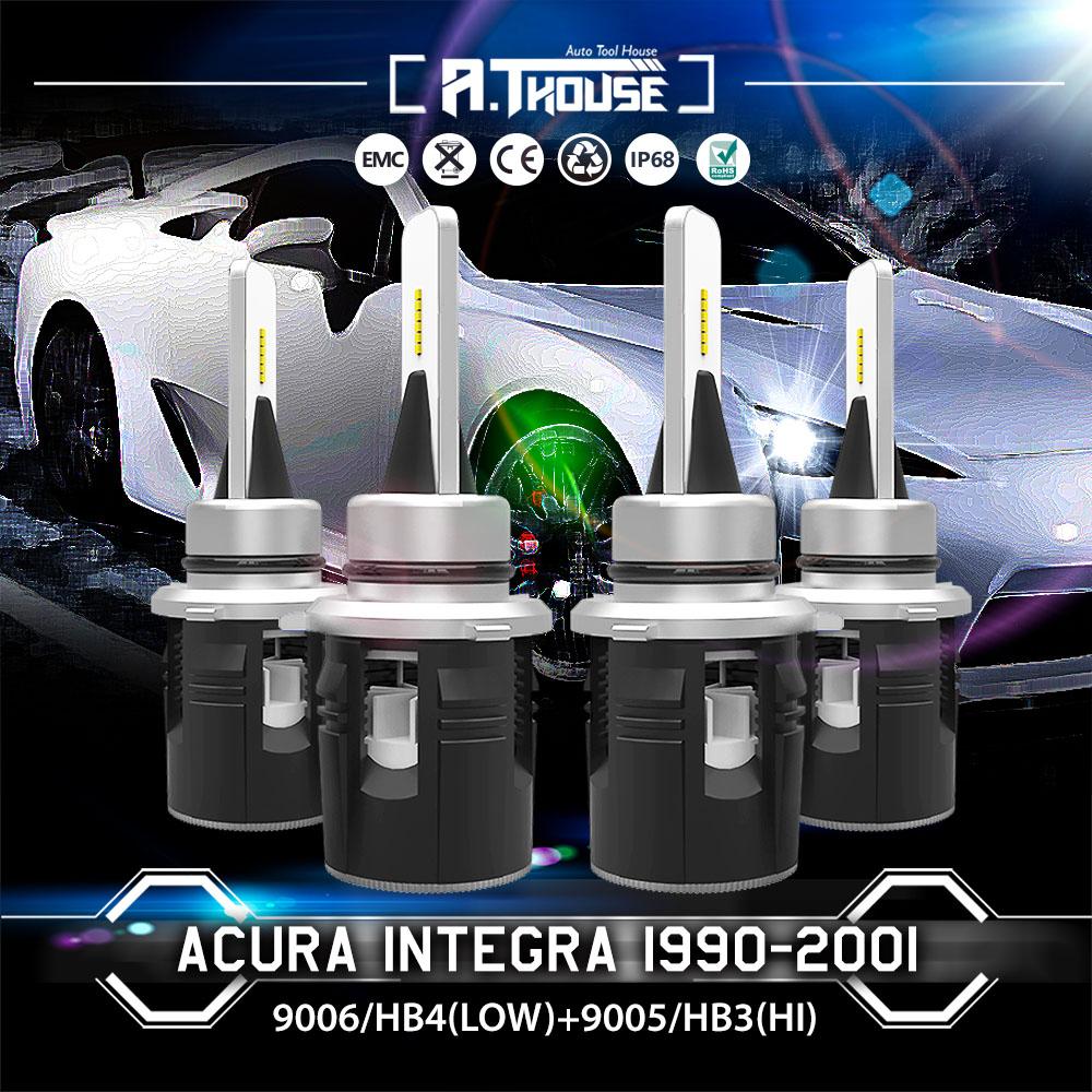 9006 9005 Hi/Low Beam LED Headlight Kits Bulbs 6000K For
