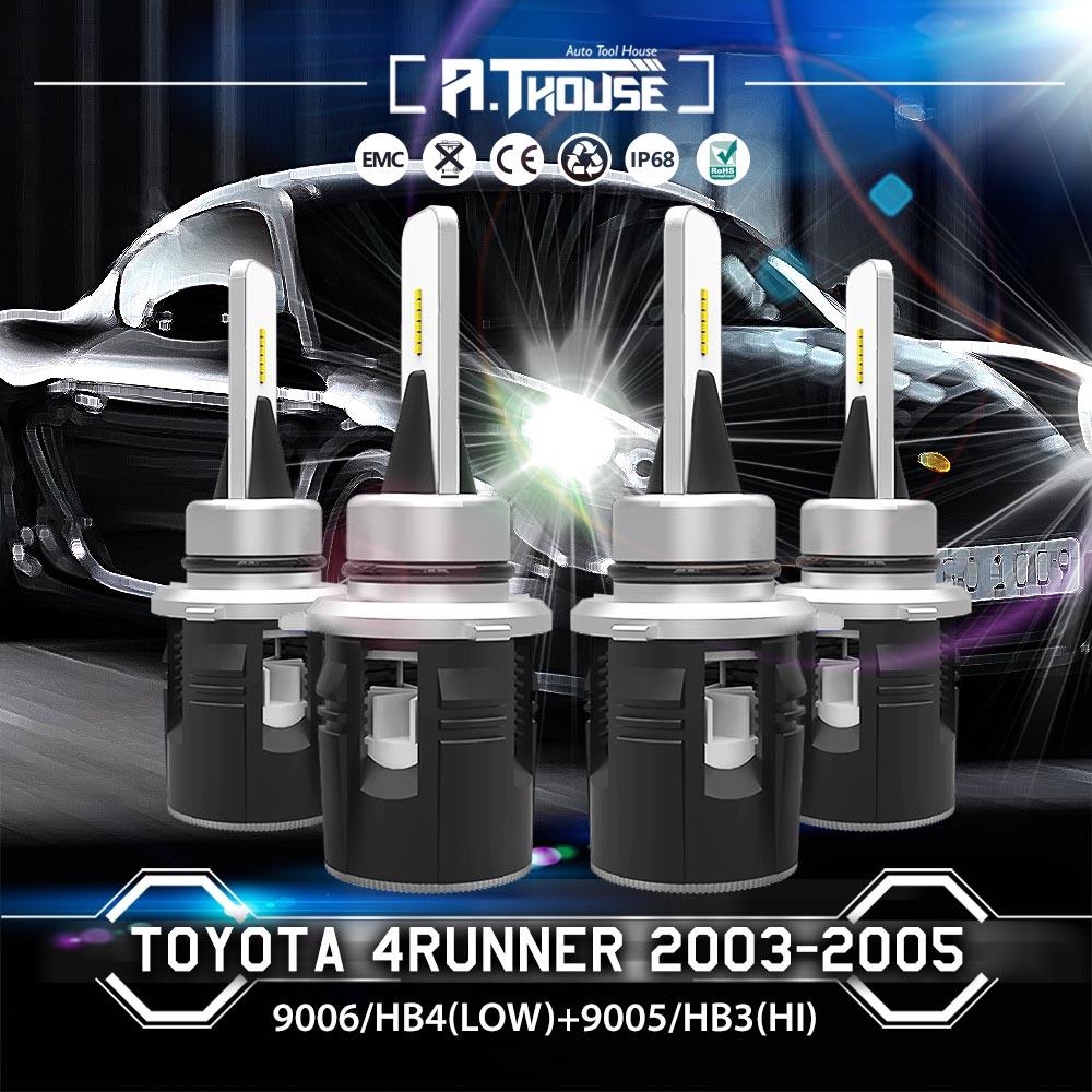 HB3 HB4 LED Headlight Kit 9005 9006 Bulb For Chevrolet Corvette 2000 Hi//Lo Beam