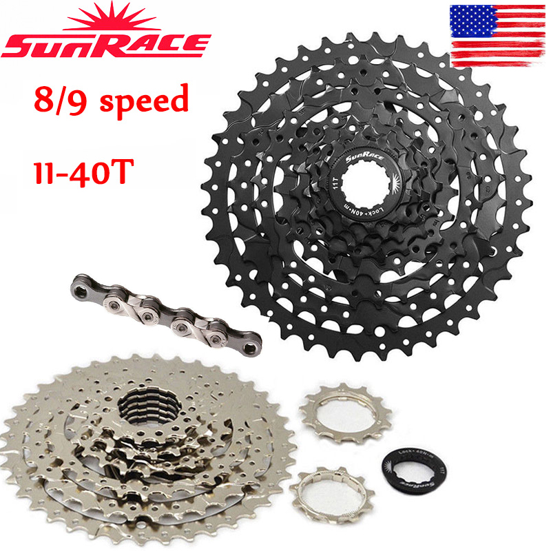 SunRace CSM680 8Speed 11-40T Mountain Bike Bicycle Freewheels Cassette Cogs MTB