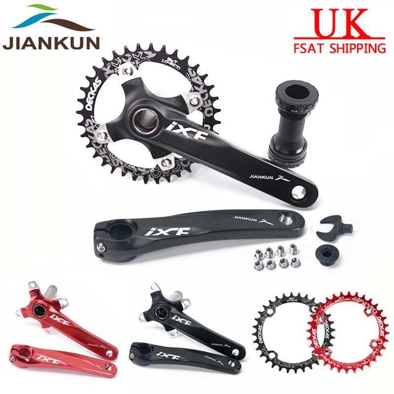 BB 32 34 36 38t Aluminum 170mm Crankset 104bcd MTB Bike Crank Set Chainring