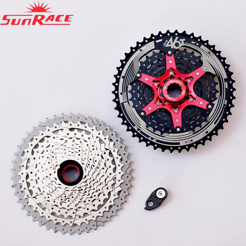 SUNRACE CSMX3 10Speed MTB Bike Cassette 10S Cogs 11-40//42//46t fit Shimano SRAM