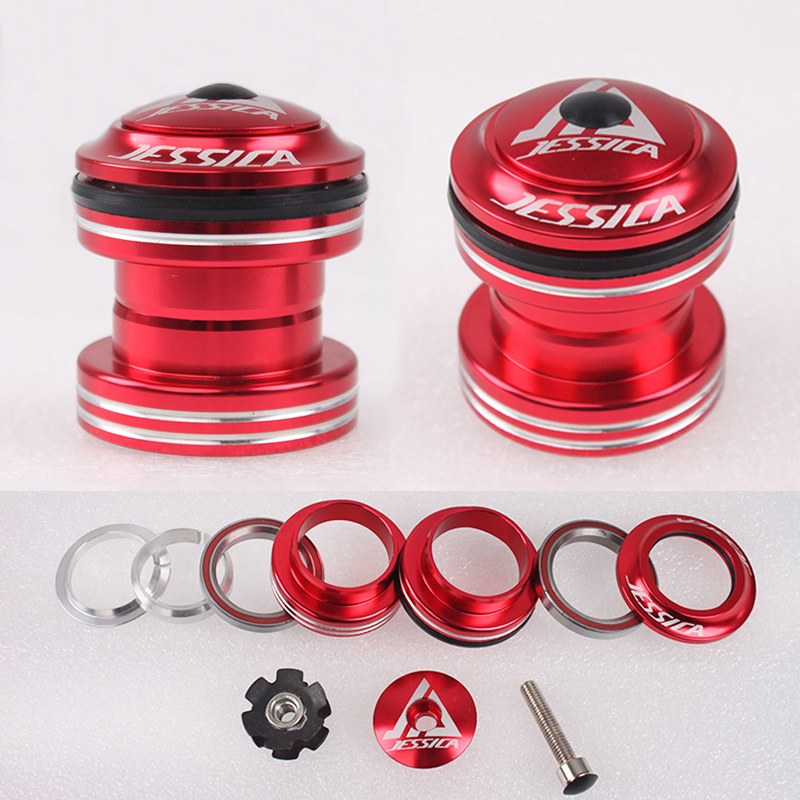 "1/"" 1-1//8/"" 30MM Mountain Bike Road Bicycle CNC Threadless External Headset"