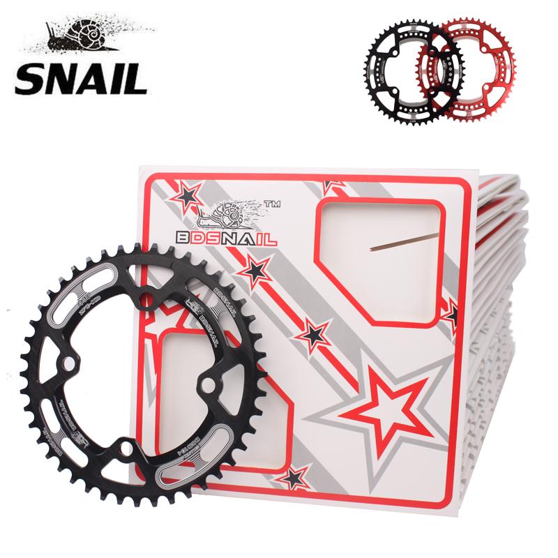 SNAIL 30-52T Narrow Wide Chainring 104bcd MTB Road Bike Crankset Chainwheel