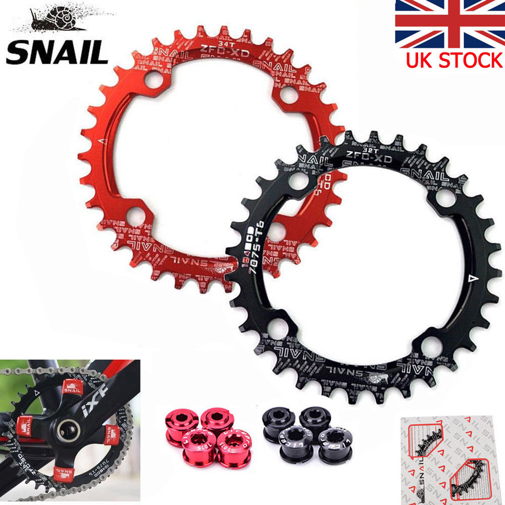 Narrow Wide Chainring Mountain Bike 104BCD 32T 34T 36T 38T 40T Crankset Tooth
