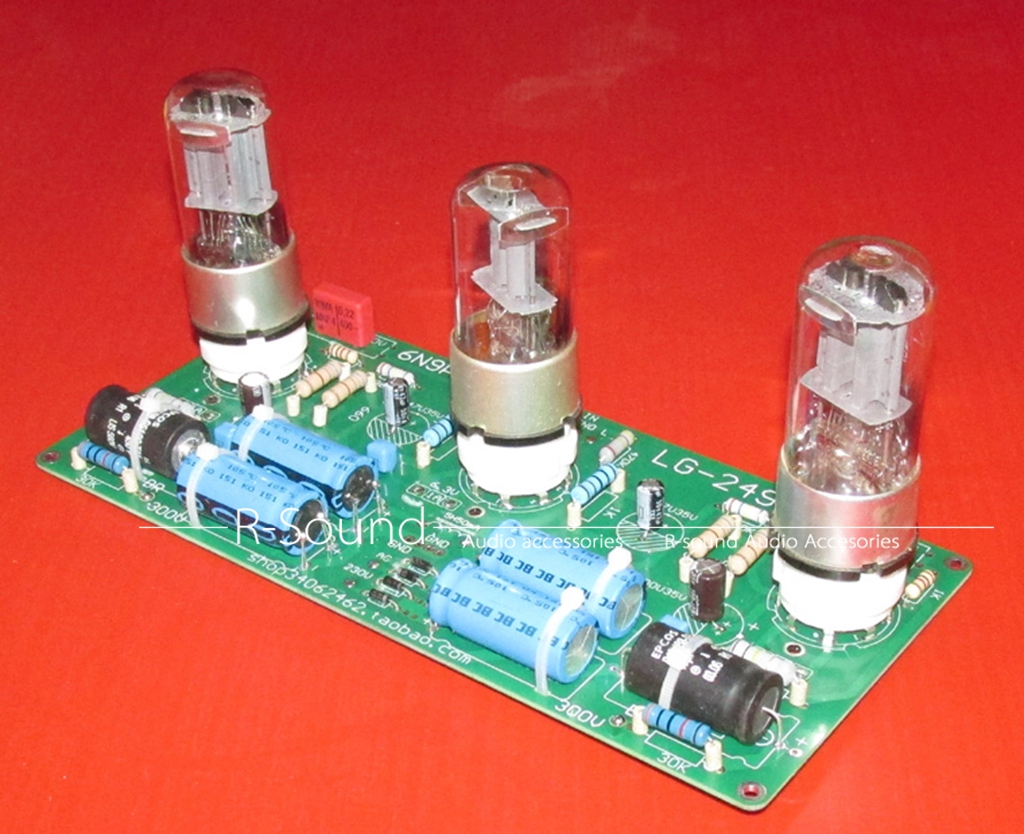 93 1w Power Amplifier Qcr Thermal Fuse Cement Resisrots Sqp Stereo Headphone Based Tda2822 6n9p 6n8px2 Tube Amp Finished Board
