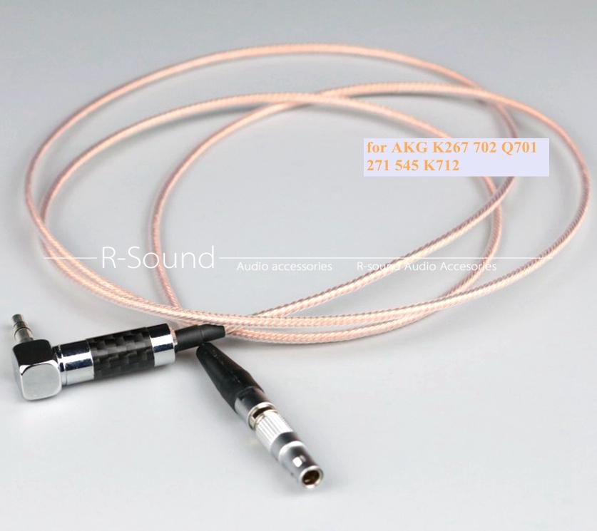 6N OCC Headphone upgrade cable cord for AKG K812 K240 K702 K267 Q460 Q701 K450