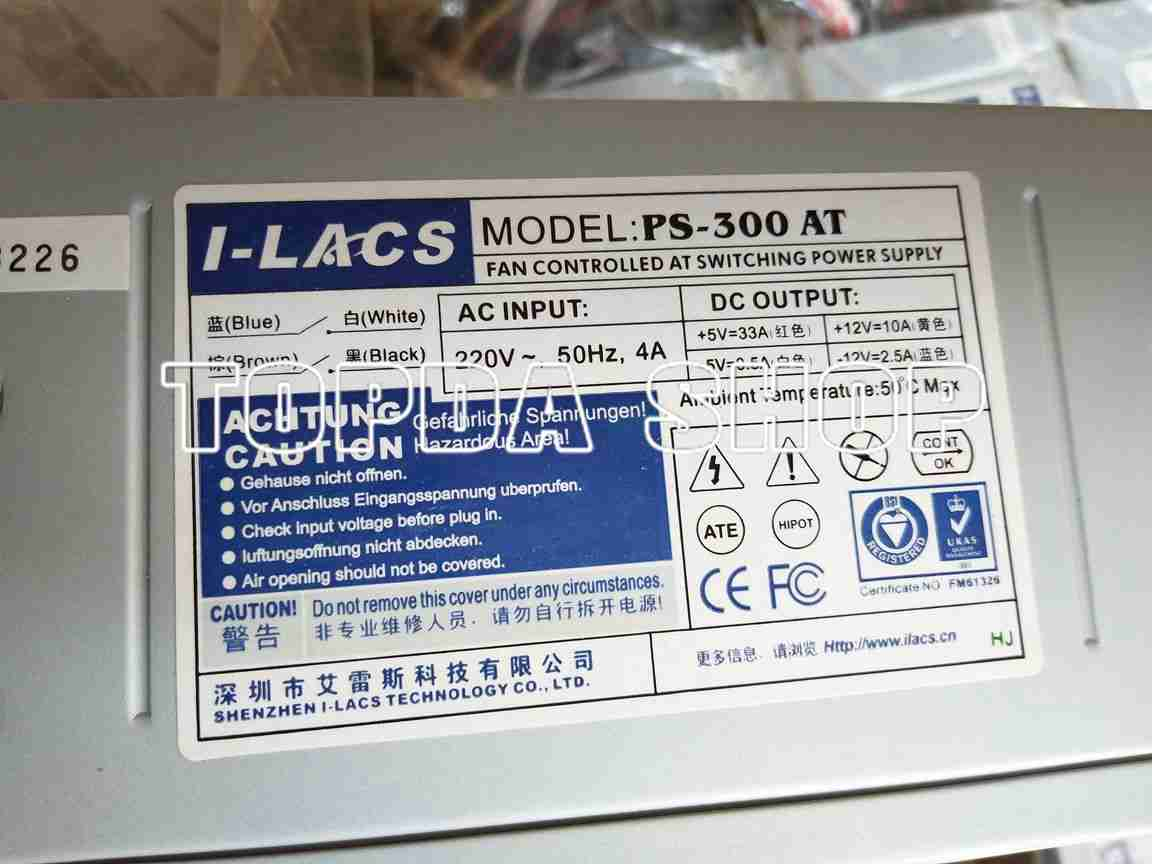 1pc Used PS-300AT power supply DHL fedex ship   eBay