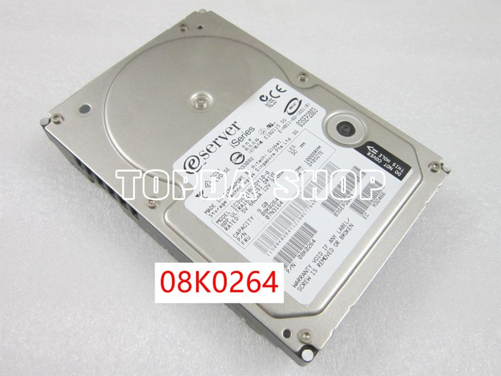 1pc IBM AS400/iSeries 08K0264 07N3164 hard disk 80pin SCSI