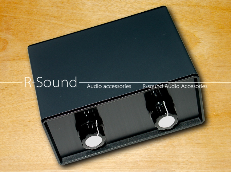 volume control Stereo 4way audio signal input 1way output Switcher