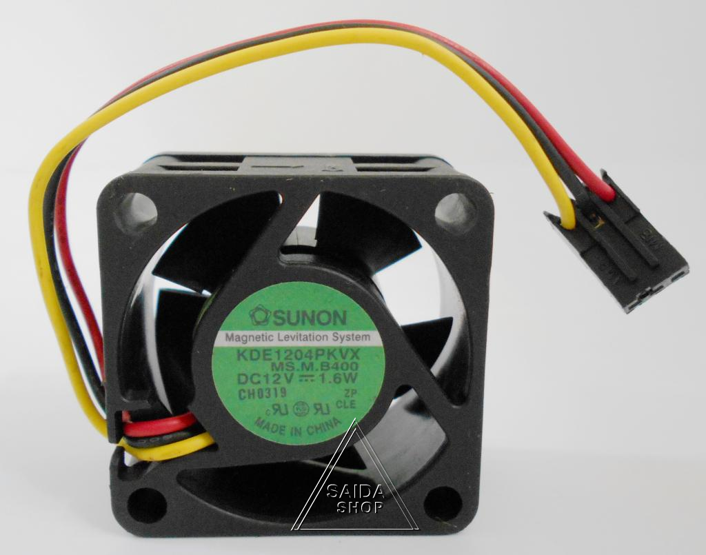 1PC KDE1204PFV1 DC12v 1.6w For Sunon Mute Maglev cooling fan 40*40*10mm