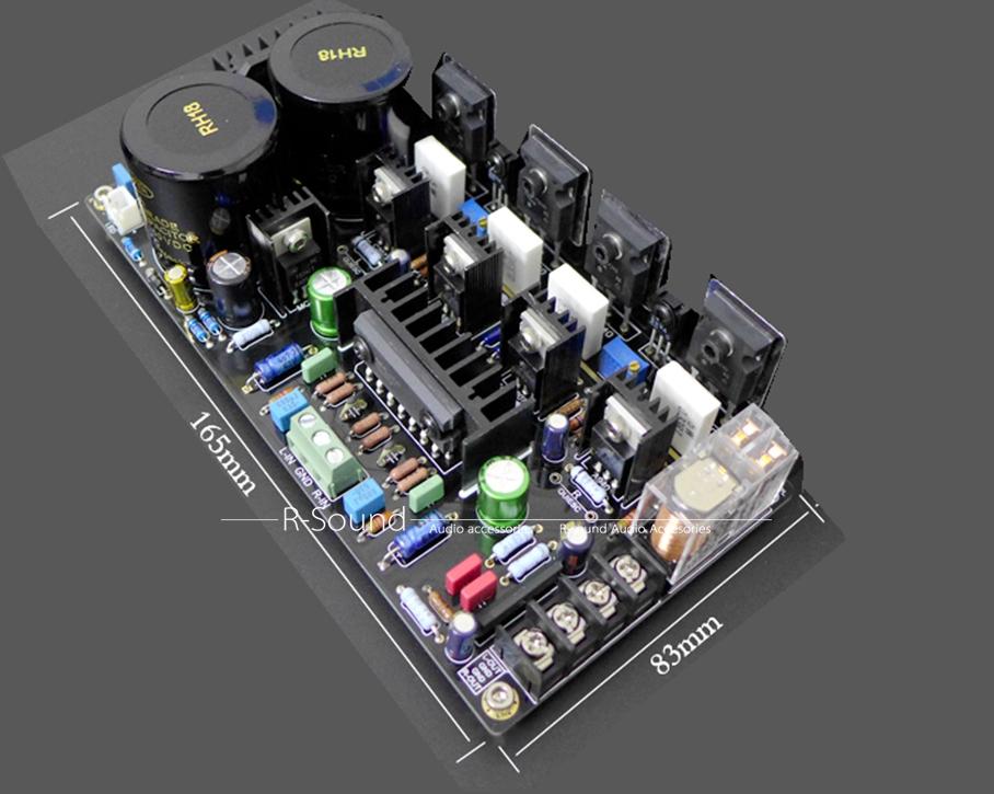 M1 IRF9240 / 240 Field effect tube Power amplifier board DIY