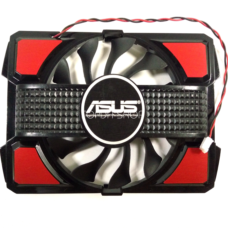 Everflow R128015sm Fan For Asus Gt220 240 430 440 9600gso Eah4670 Vga Card 5570
