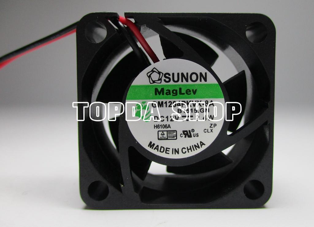 SUNON GM1204PKVX-8A Fan 40*40*20mm 12V 2.4W 2pin #M2834 QL