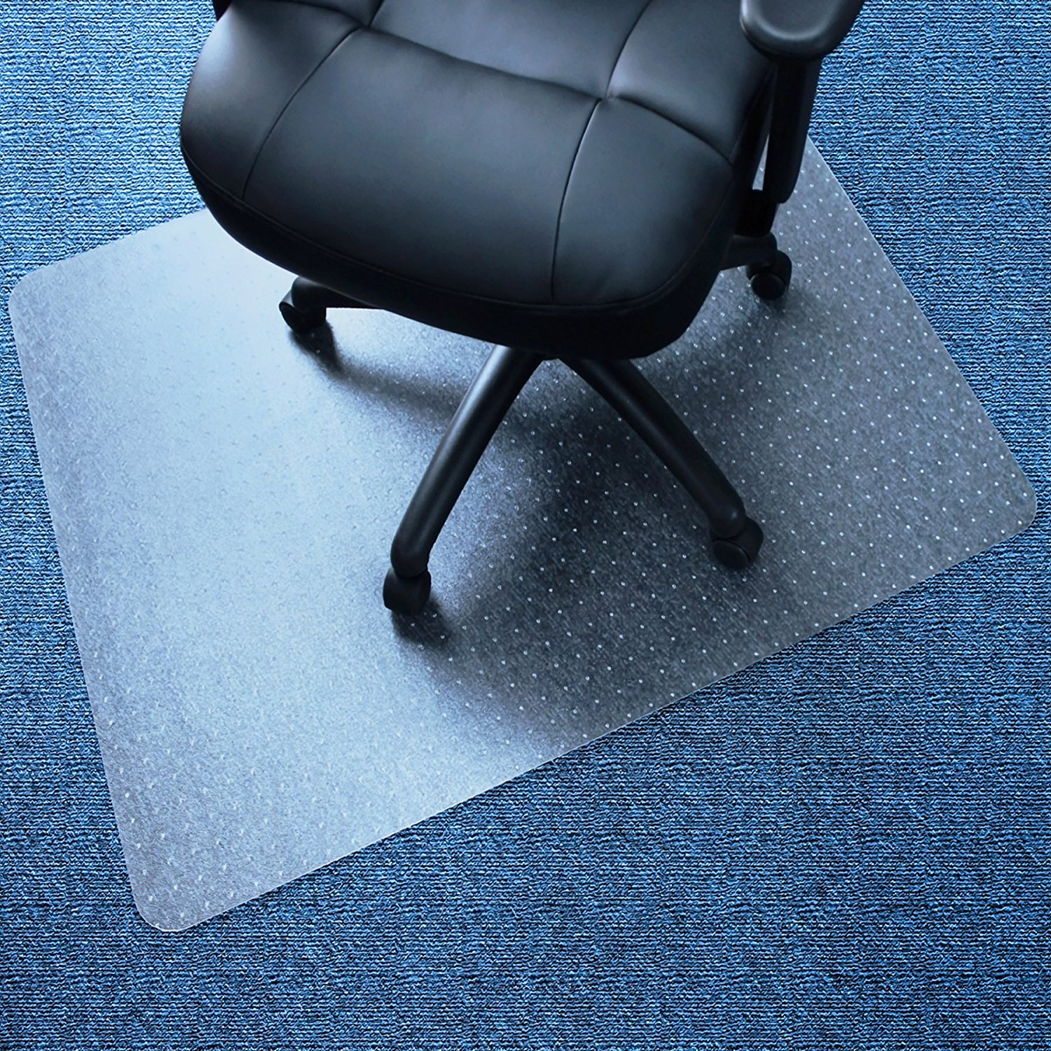 Details About Pvc Clear Chair Mat Home Office Computer Desk Floor Carpet Protector 35 47