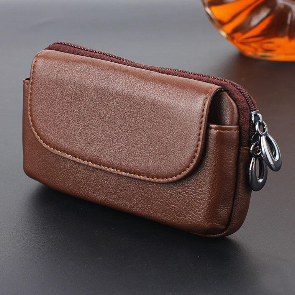 Belt-Clip-Leather-Cowhide-Purse-Bag-Case-For-iPhone-Samsung-Redmi-LG-HTC-4-7-5-5