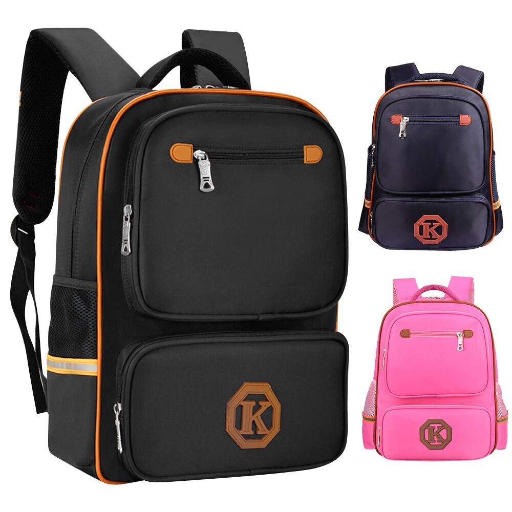6b7c6a5df896 Kids Boys Men Girls Elementary School Bag Reflective Backpack ...
