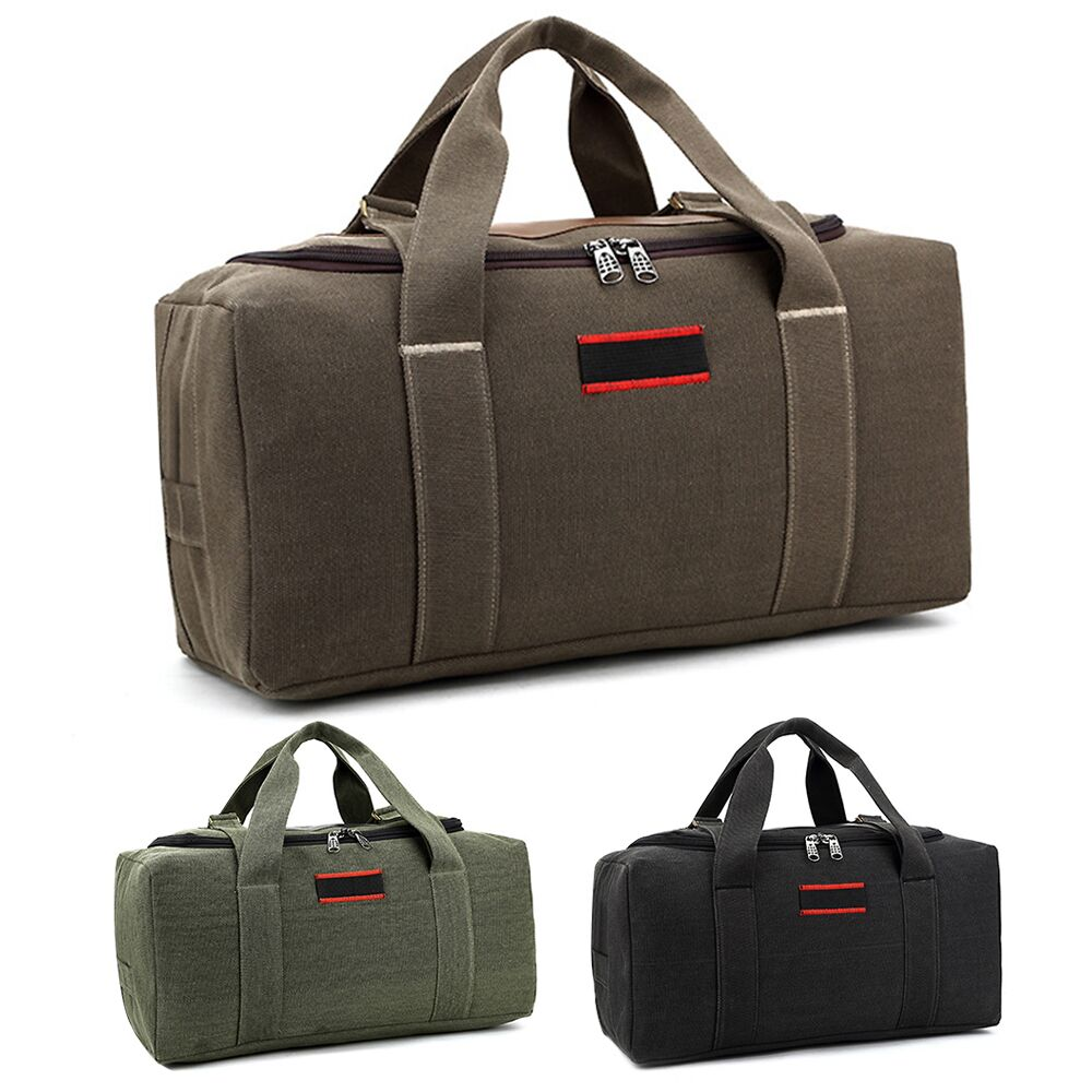 Details About 26 Men Overnight Canvas Travel Duffel Bag Weekend Duffle Luggage Handbag Gym