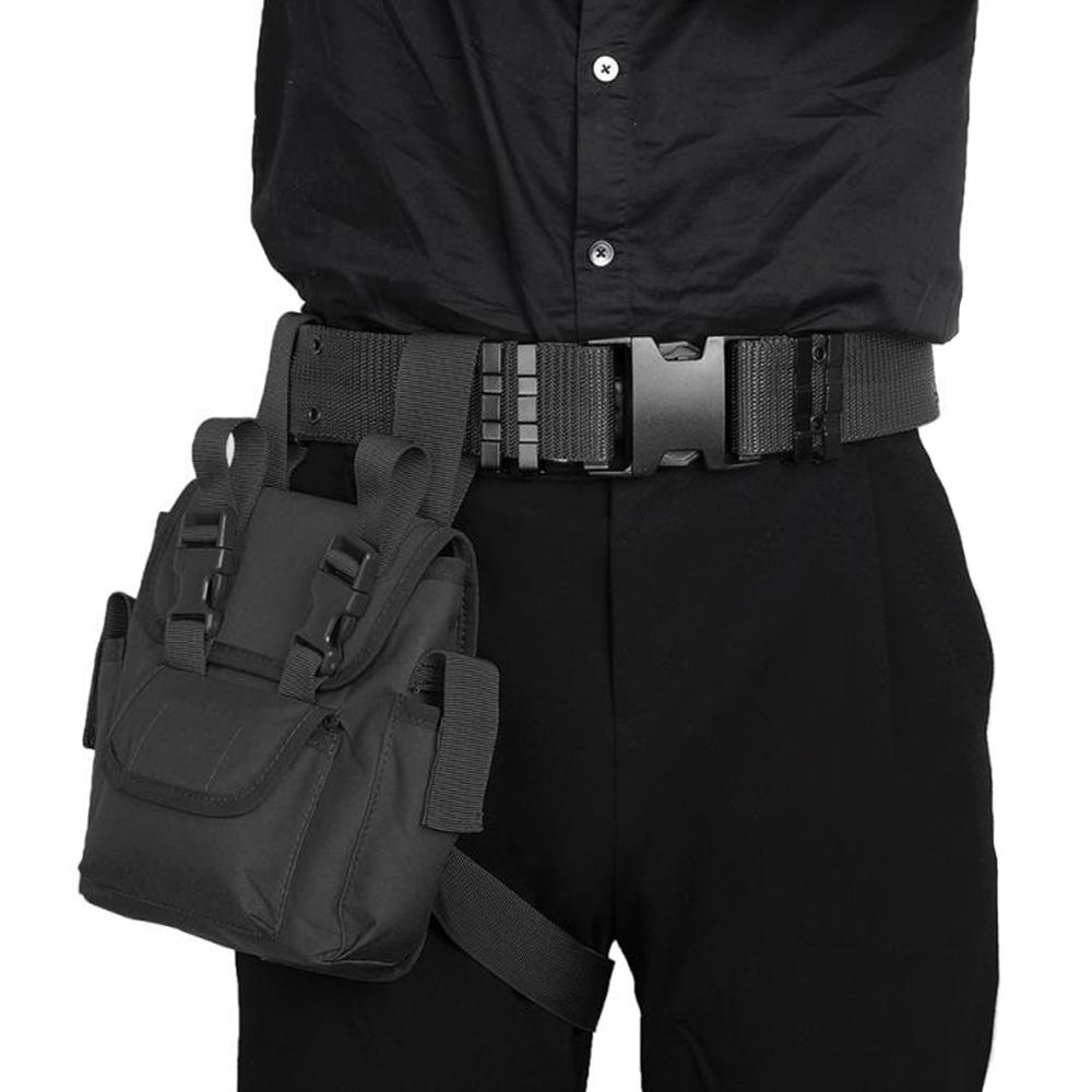 Men/'s Waterproof Tactical Military Leg Bag Nylon Hip Drop Belt Waist Hiking  ❀