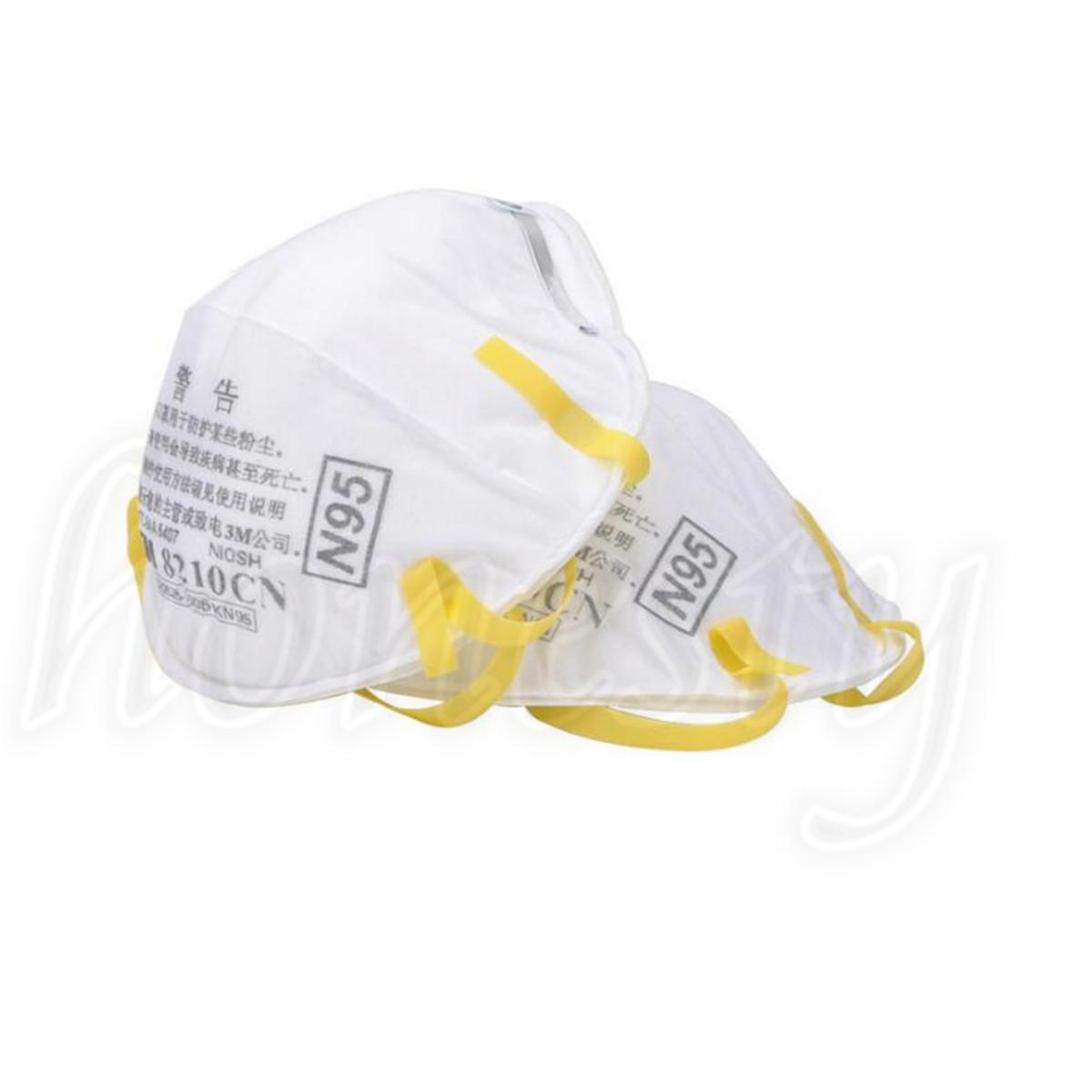3m respirator mask 8210 n95 2 masks