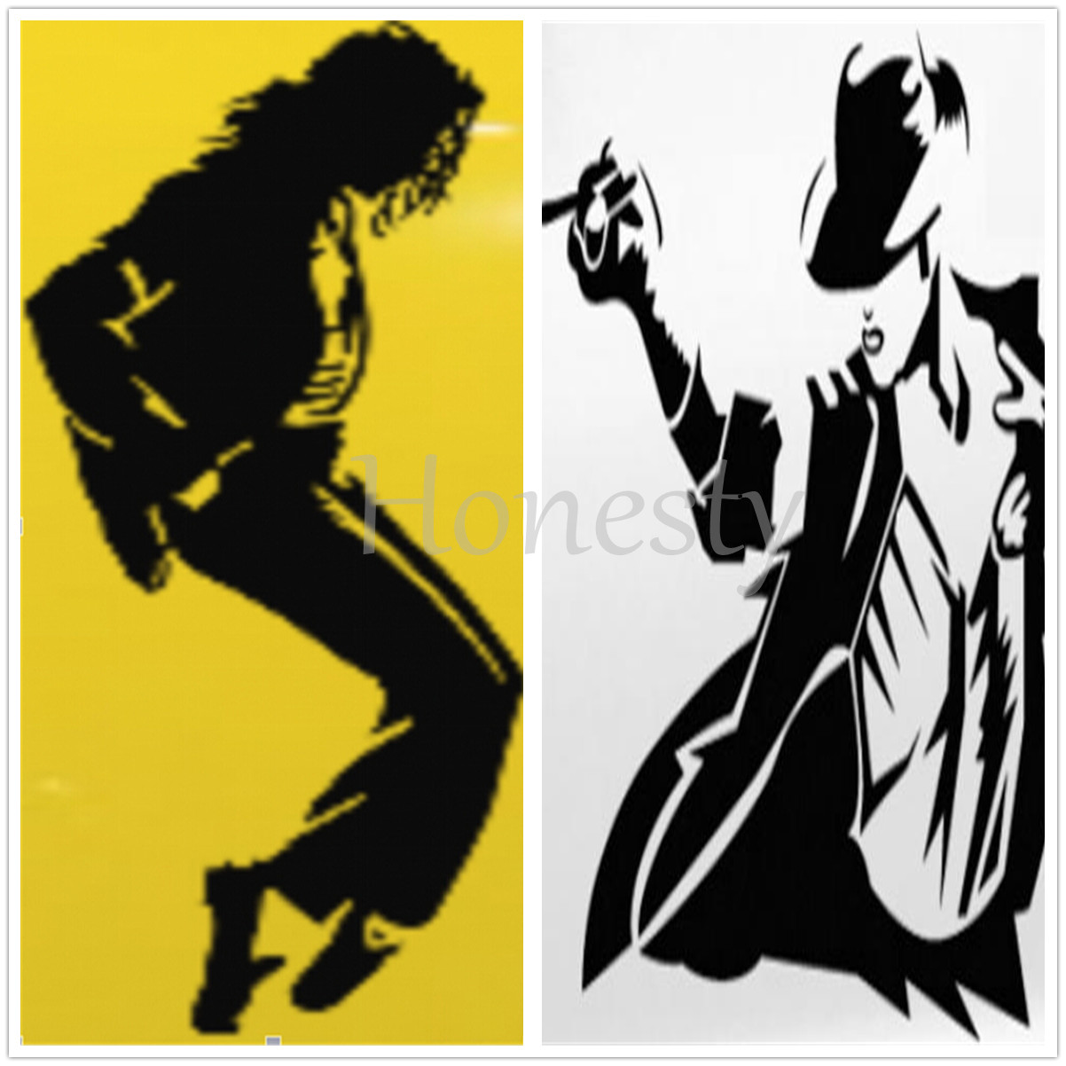Michael Jackson Sticker Vinyl Decal Car Laptop Window Wall Bumper ...