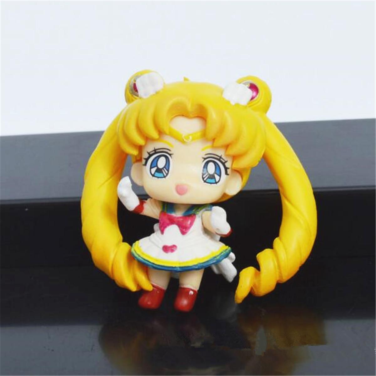 Sailor Moon S.H.Figuarts Tsukino Usagi Action Model Figurine Anime Figma Decor
