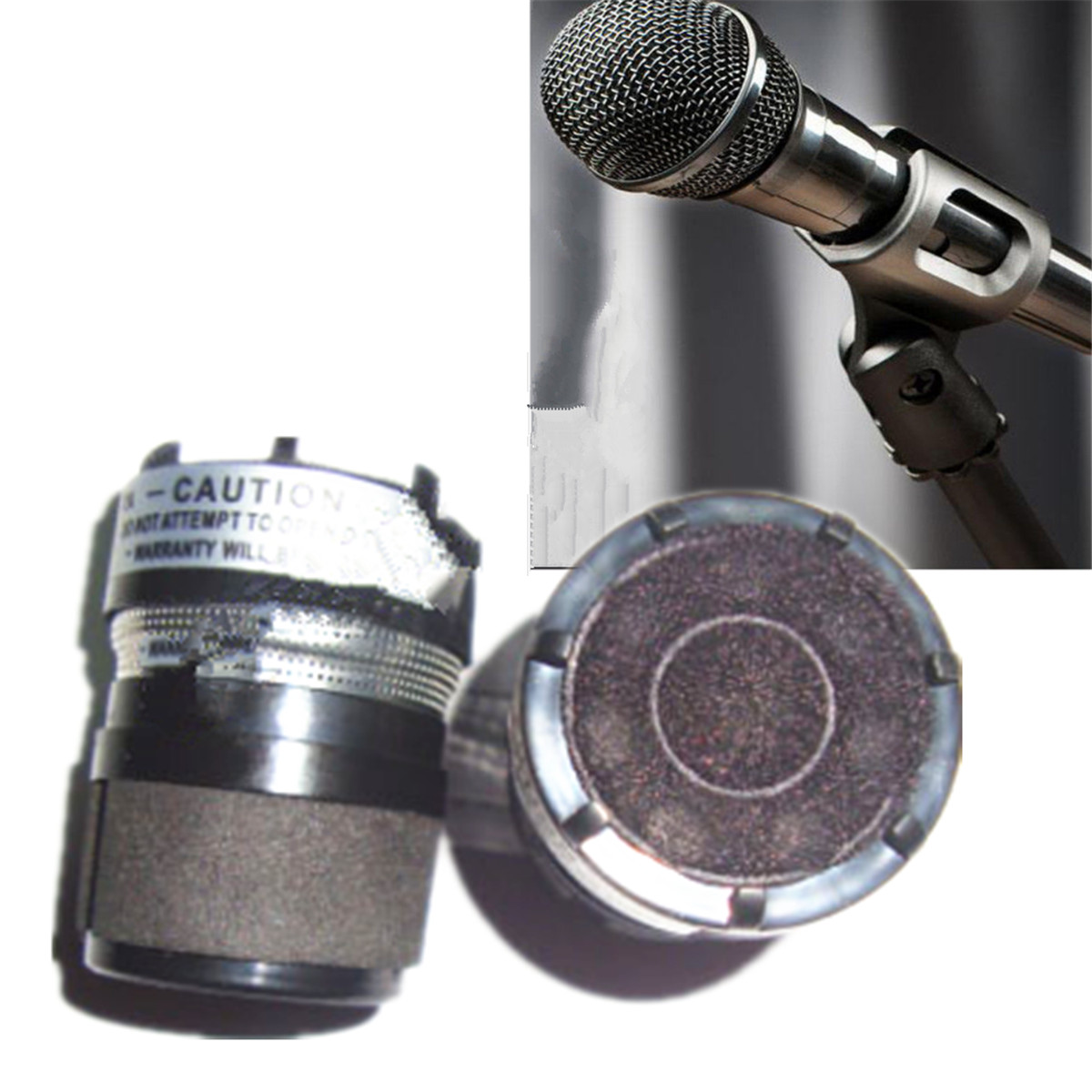 2pcs Replacement Cartridge Fit For Shure SM58 600 Ohm Microphone ...