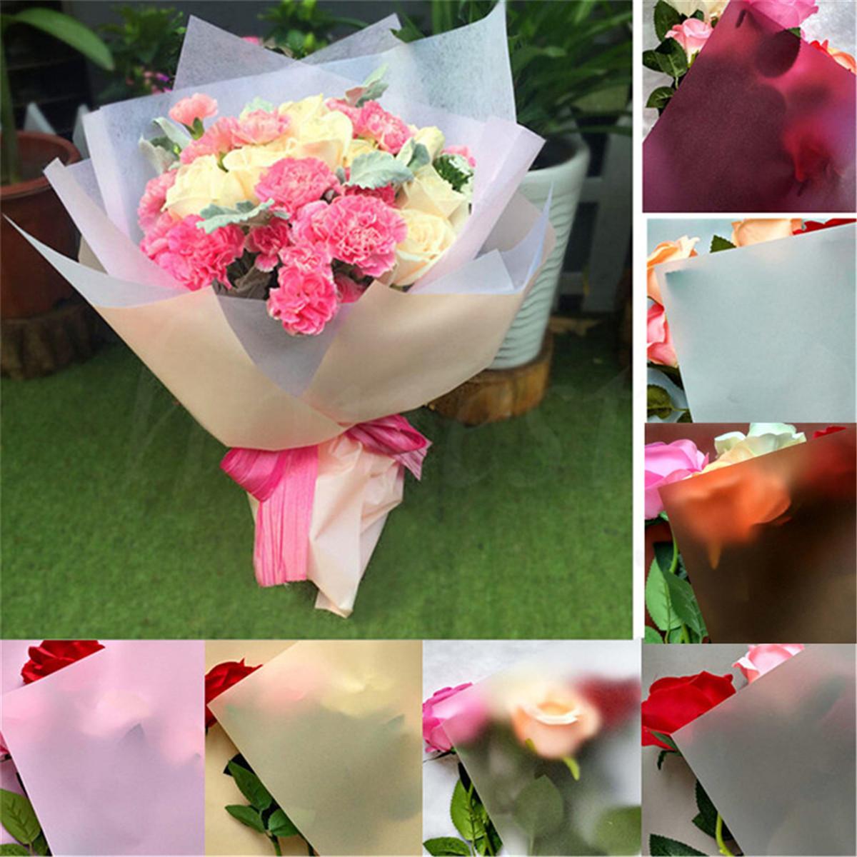 10 Sheet Flower Wrapping Paper Waterproof Florist Art Wedding
