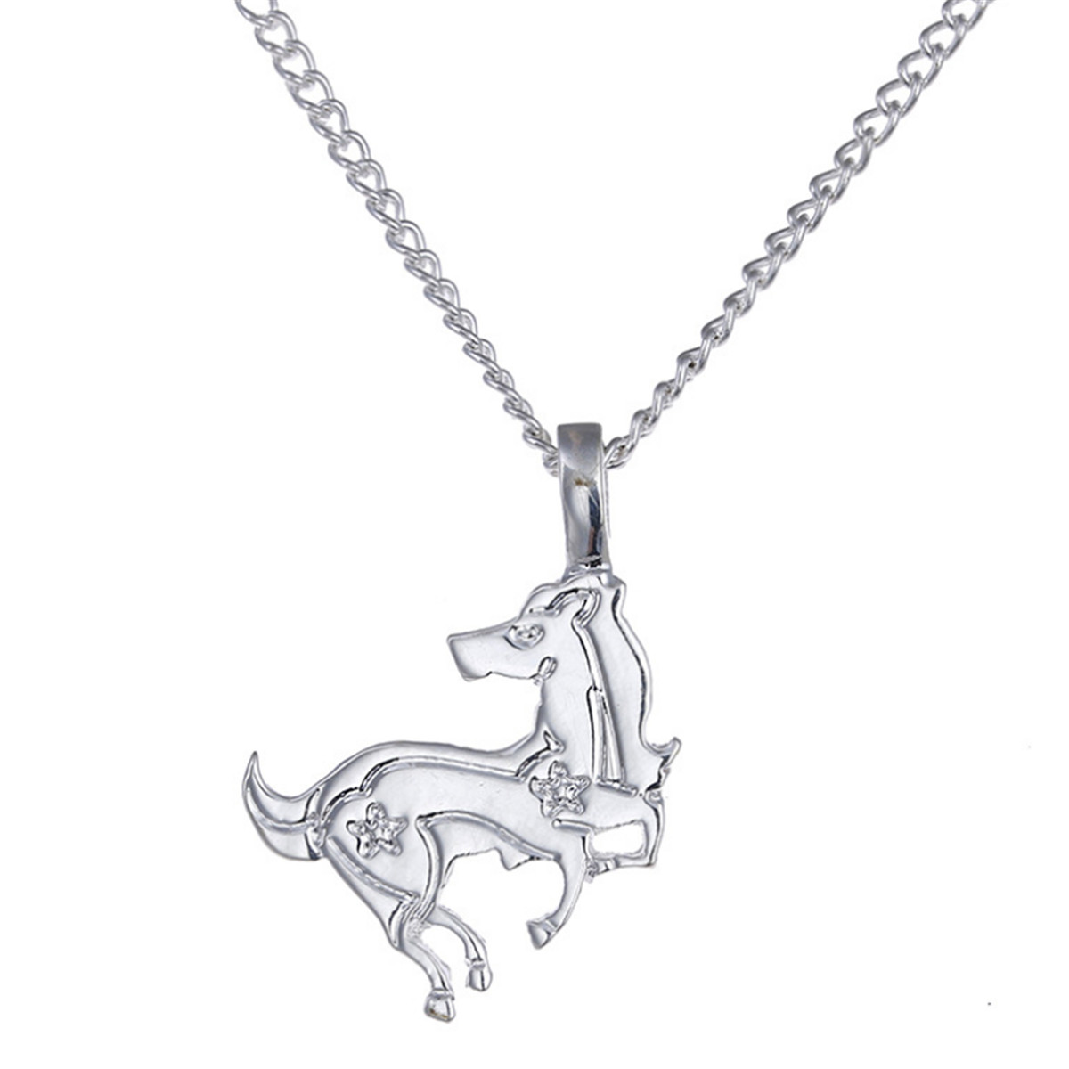 pendant in fox animal products wolf original jewelry and standing realistic cute silver necklace shaped
