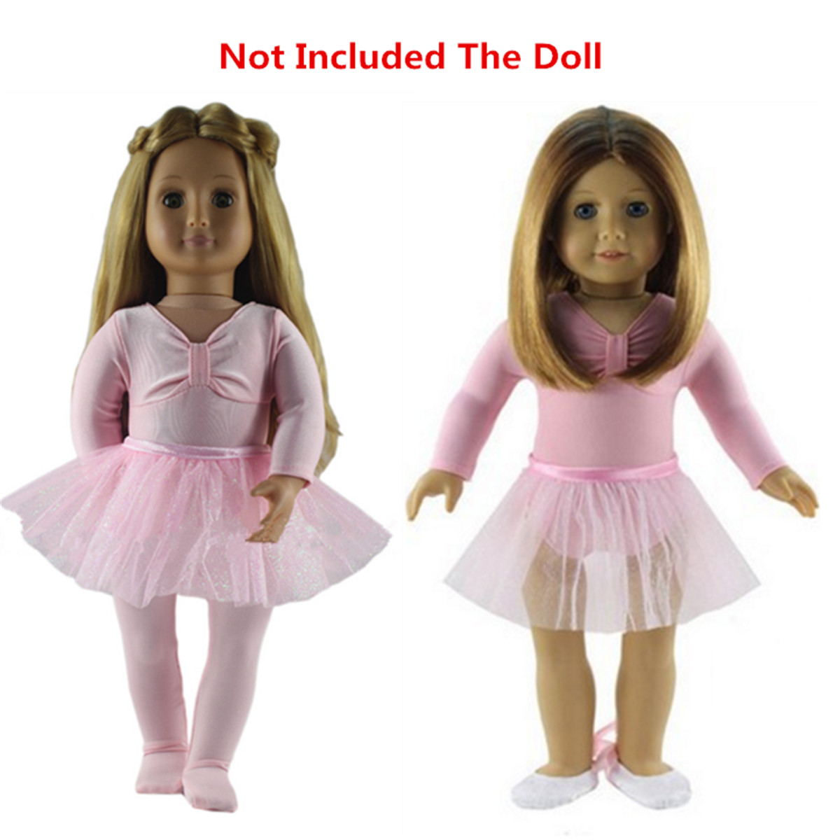 9b7fe76f861d9 Details about Ballet Dance Outfit Clothes Set fit 18 Inch American Girl Our  Generation Doll