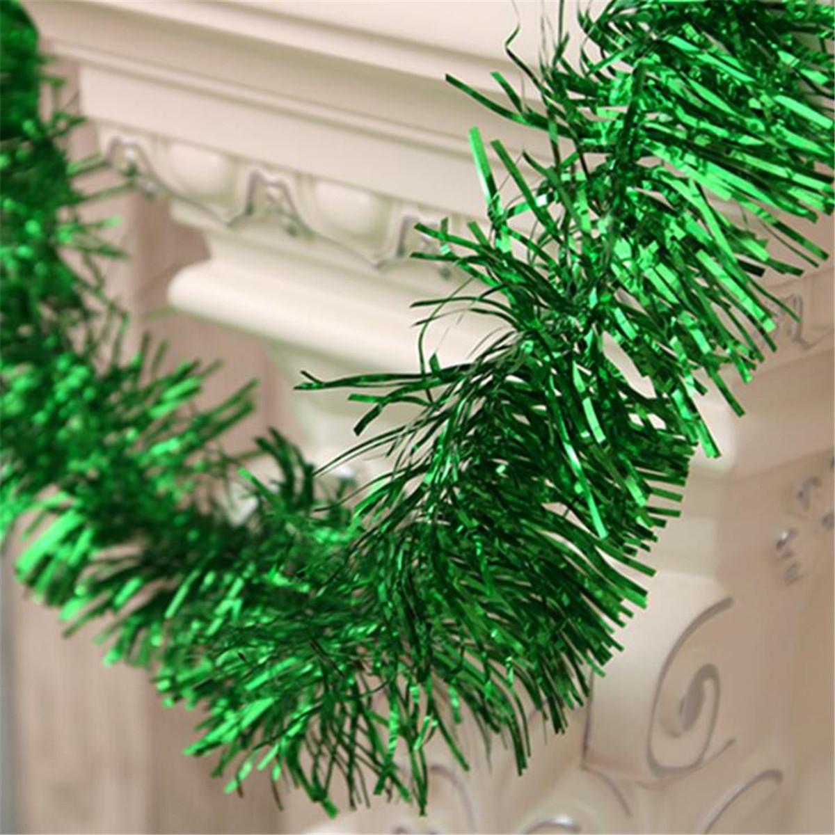 Colorful Shining 2M Tinsel Garland Halloween Christmas Tree Decor ...
