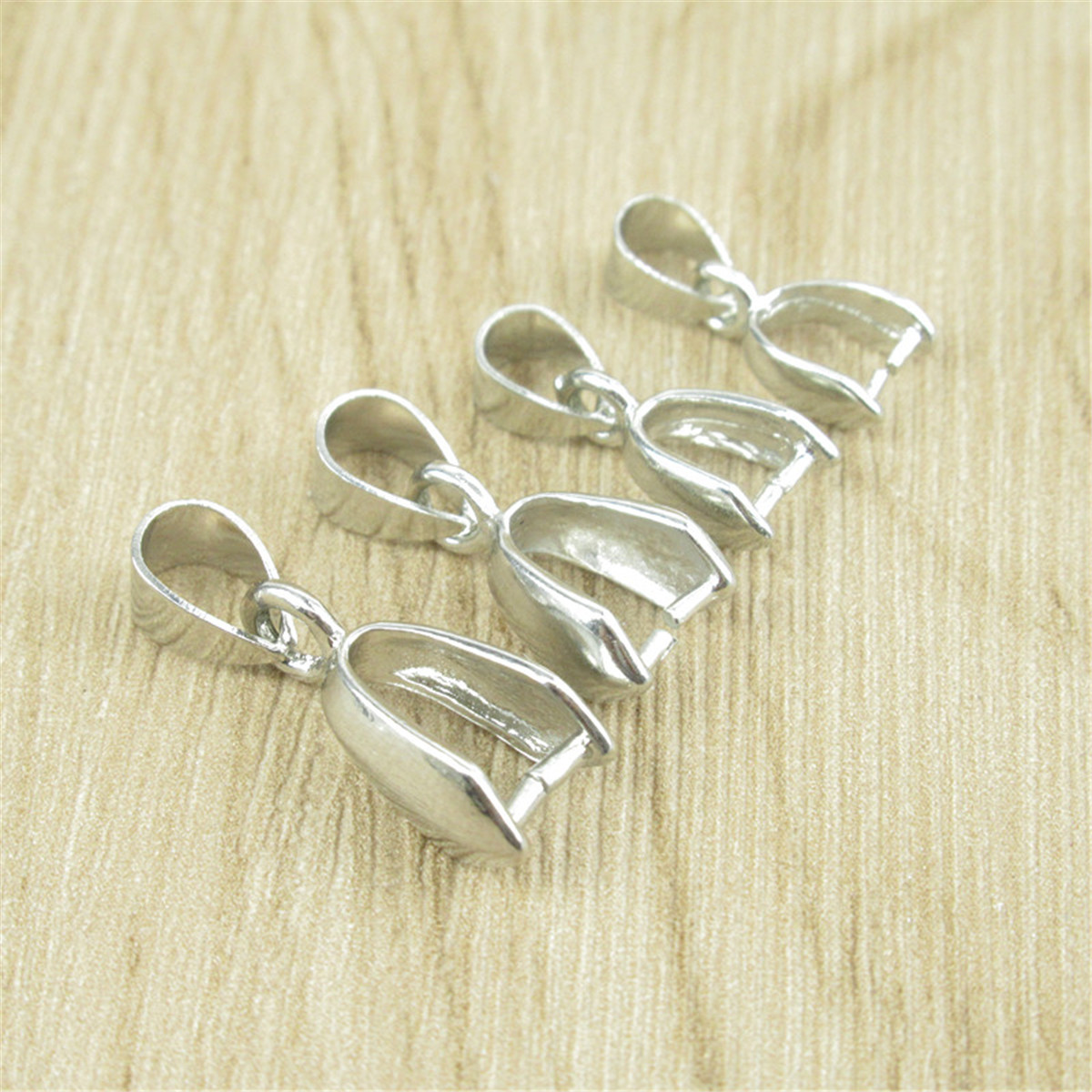 10x Metal Link Connectors Gold Silver Findings 20 30mm Earrings Making