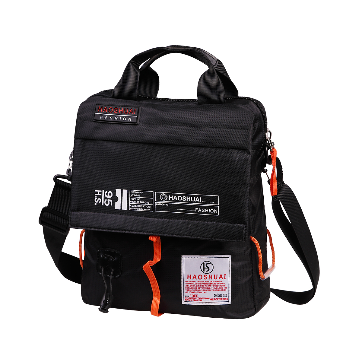 Details About Casual Crossbody Bag Uni Satchel Waterproof Bookbag For Outdoor Hiking Travel