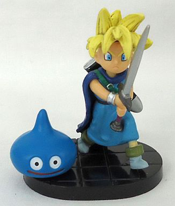 Dragon Quest gashapon figure Bandai Slime 5