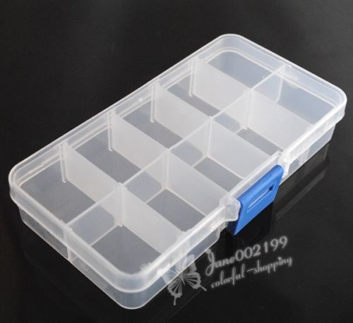 20 Styles Plastic Beads Container Box Jewelry Display Craft Storage