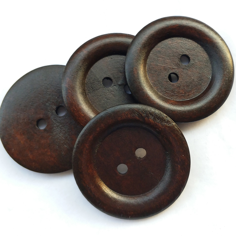 20pcs-Wooden-Wood-Button-Big-50MM-Round-Wine-Coffee-Brown-Craft-Sewing-Coat-Hat thumbnail 16