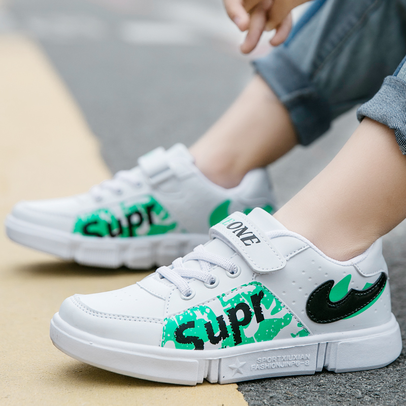 Skateboard Details 36 Shoes Leather Girls Boys About Fashion College 31 Casual Sports Sneaker tsrdhQCx