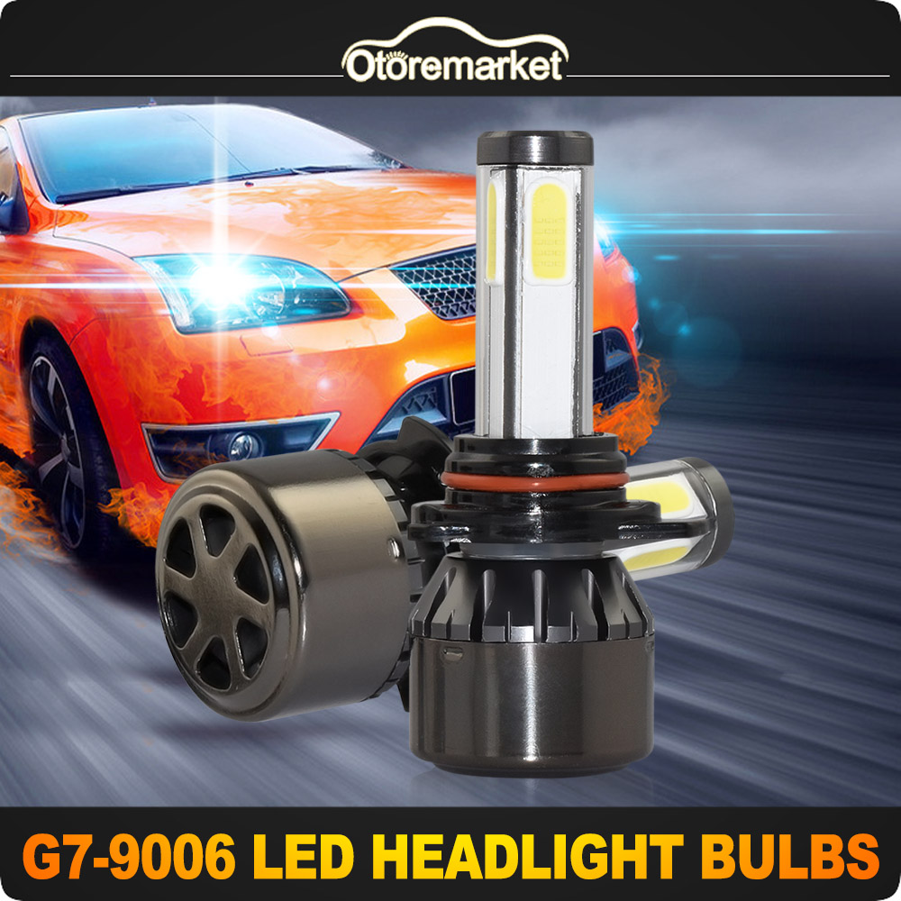 9006 Hb4 9006xs 2000w 250000lm Led Headlight Light Conversion Kit Low Beam 6000k