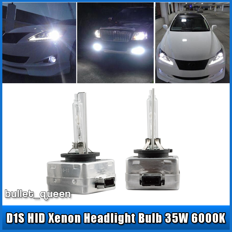 2x New Oem D1s 6000k Hid Xenon Headlight Bulbs Lamps For