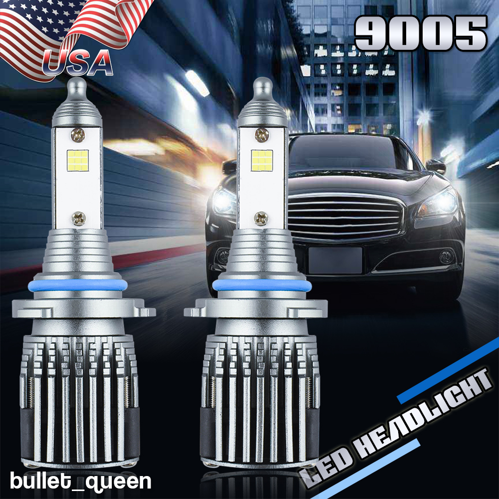 9005 LED Headlight Kit Bulbs High Beam For Acura NSX EL