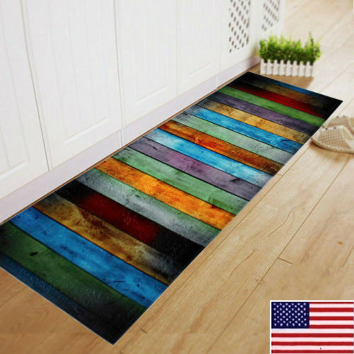 US Non Slip Door Mat Polyester Floor Mat Soft Rugs Large ...