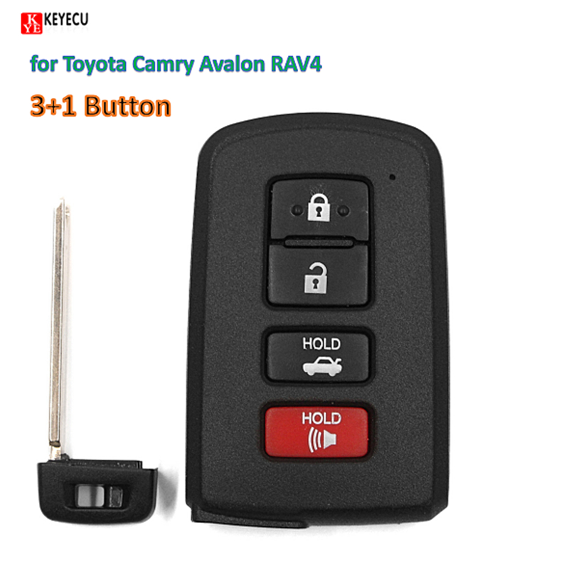 Replacement Remote Key Shell Case Fob For Toyota Corolla
