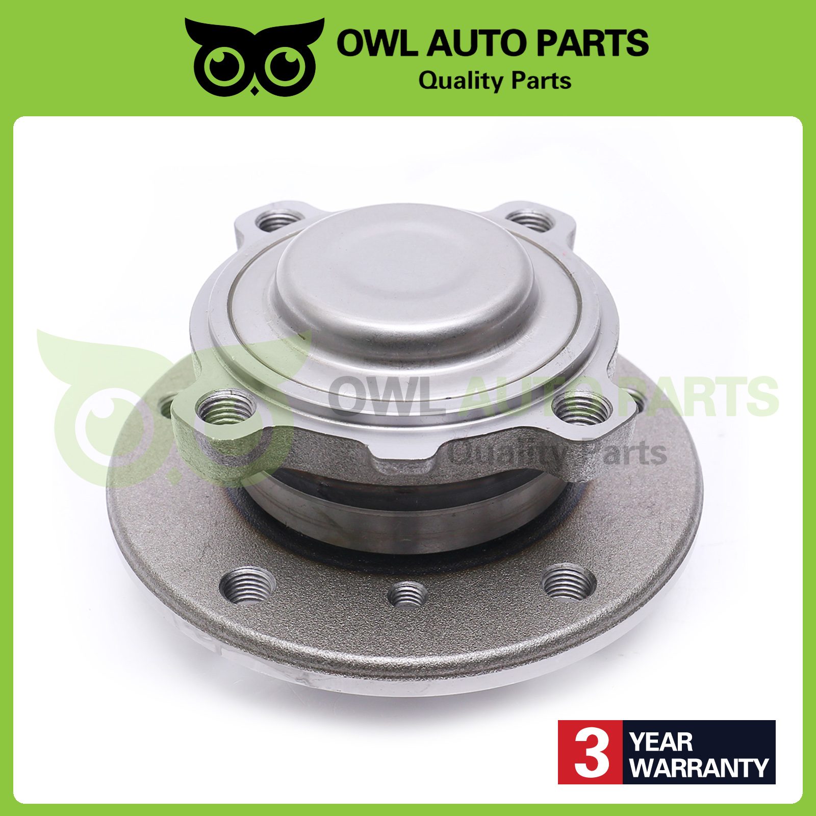 Front Wheel Bearing And Hub Assembly Pair For BMW 328i 335i X1 325i 128i 330i Z4 135i 335d 325Ci 330Ci 335is 135is 323i