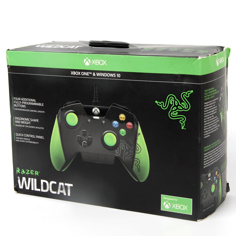 Razer Wildcat Customizable Premium Gaming Controller For Xbox One Rz06 01390100 R3m1 Pc