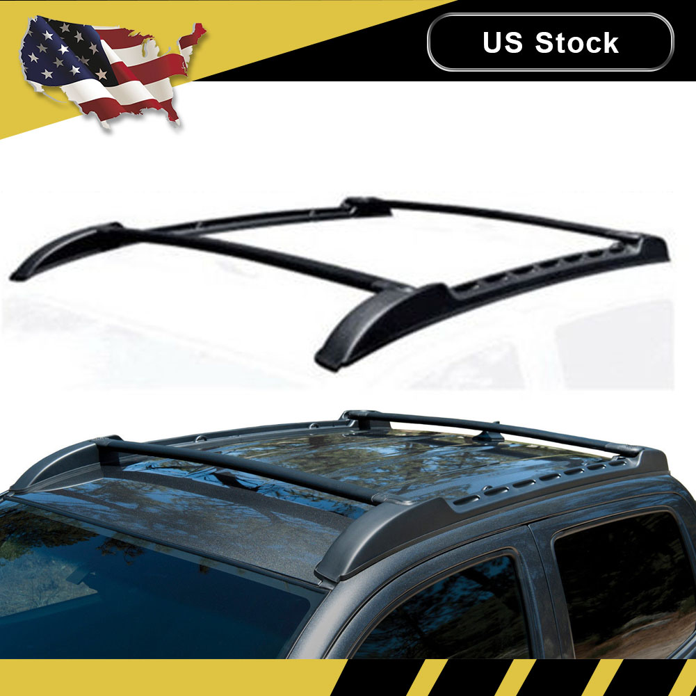 Toyota Tacoma Roof Rack Double Cab >> For 2005 2019 Toyota Tacoma Trd Pro Double Cab Roof Rack Top Cross Bar Side Rail Ebay