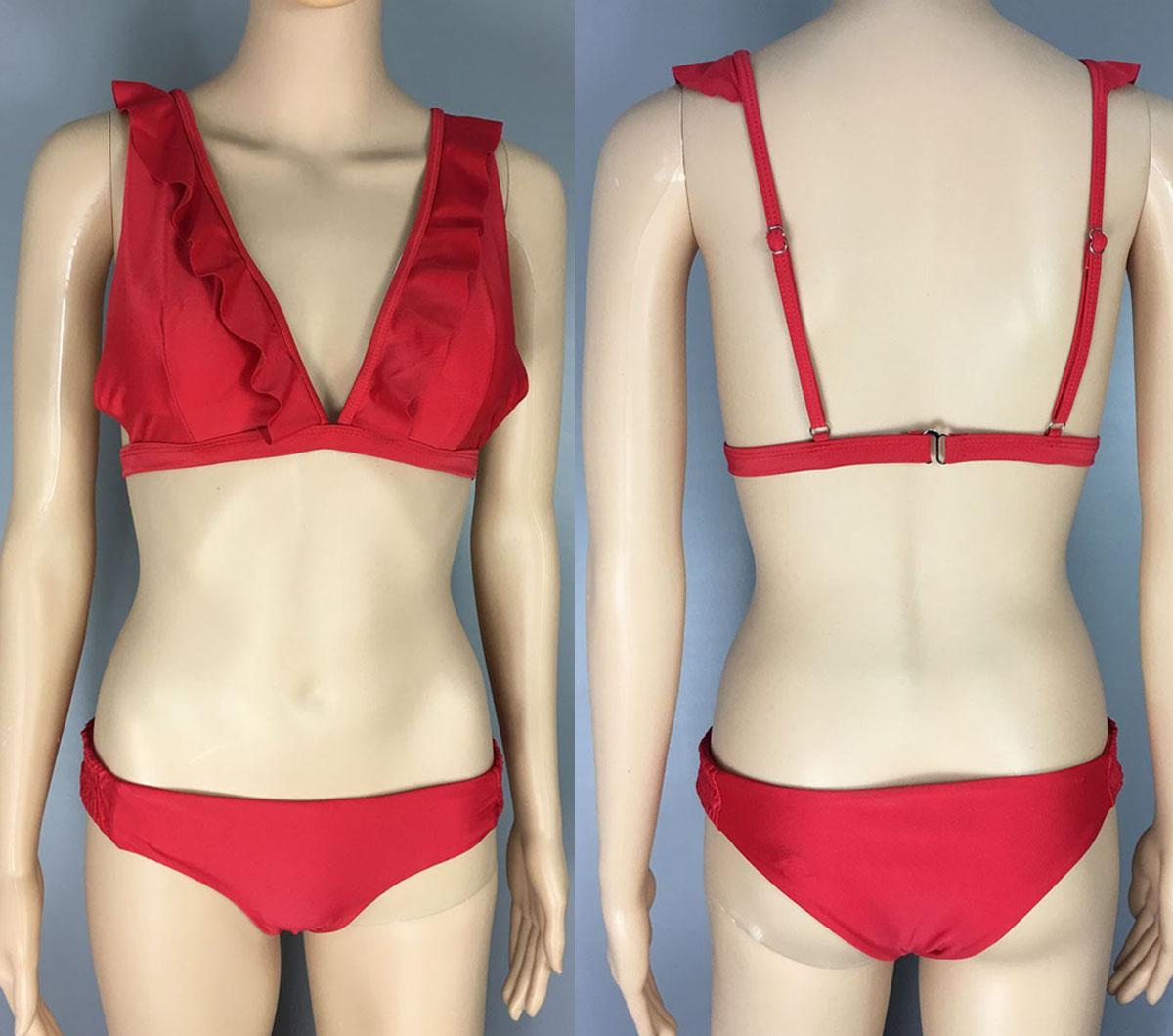 Ruffle Swimwear